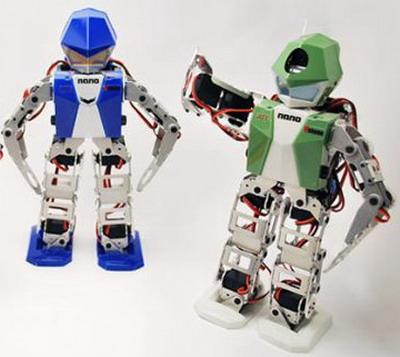 Крошечные человекообразные роботы