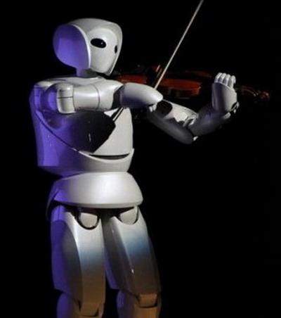 Робот-скрипач от Toyota