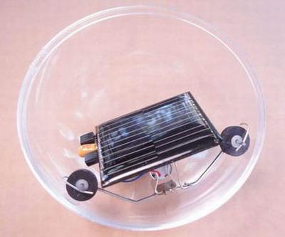 Робот-шар на солнечной энергии