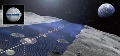 Луна - гигантская солнечная электростанция