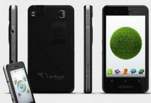 Смартфон LifeWatch V следит за вашим здоровьем