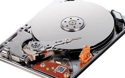 Замена жесткого диска ноутбука