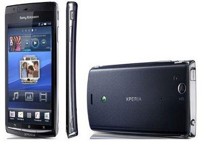 Последний смартфон от Sony Ericsson - Xperia Arc HD