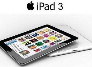 Новый планшетный компьютер от Apple - iPad 3
