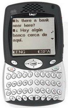 Мобильный электронный переводчик