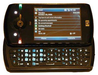 Новый смартфон HP iPAQ Data Messenger