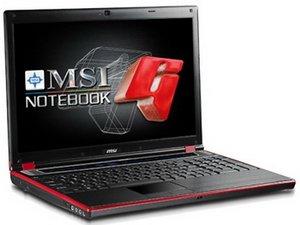 Новый ноутбук MSI GX630