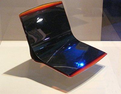 Прототип тонкого 3D дисплея Sony Flex Oled