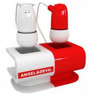 Модные наушники Angel & Devil