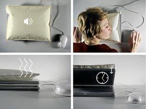 Подушка для ноутбука i-Sleep Portable Laptop Pillow