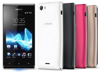 Новинки смартфонов Sony на Android