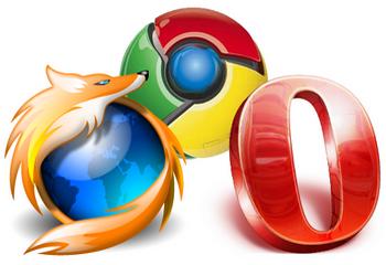 Популярные интернет-браузеры