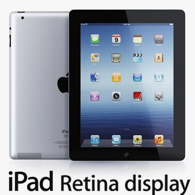 Новый iPad with Retina display от Apple