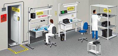 Антистатическое оборудование и оснащение